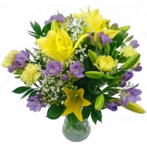 Freesia & Lily Bouquet