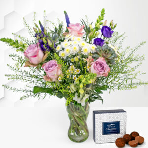 Wild and Wonderful - Free Chocs - Flower Delivery - Wildflower Bouquet - Flowers - Next Day Flower Delivery - Birthday Flowers